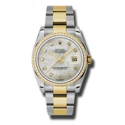 Rolex - Datejust Mother of Pearl Dial Automatic Ladies Watch