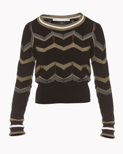 Veronica Beard - Black Kindling Pullover