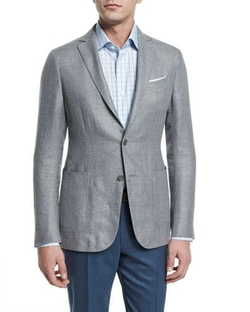 Ermenegildo Zegna - Capri Textured Basketweave Jacket