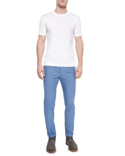 Dolce & Gabbana - Basic Crewneck Tee & Stretch-Twill Trousers