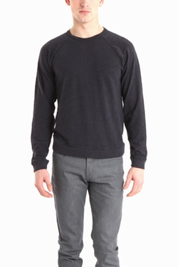 Naked & Famous - Slim Crew Pullover Sweater