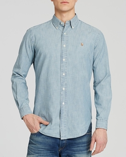 Polo Ralph Lauren  - Chambray Button Down Shirt