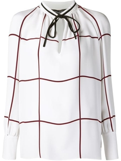Derek Lam - Tied Neck Blouse