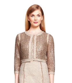 Kay Unger - Sequin And Tweed Jacket