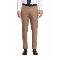 Ermenegildo Zegna  - Cotton-Blend Flat-Front Trousers