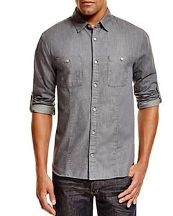 John Varvatos Star USA - Slim Fit Button Down Shirt