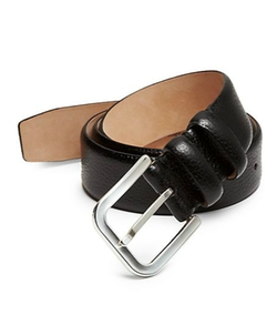 Hickey Freeman  - Pebble Leather Belt