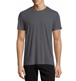 Vince - Crewneck Short-Sleeve Cotton T-Shirt