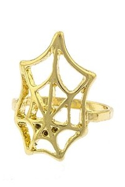 The Jewel Rack  - Spider Web Knuckle Ring