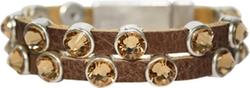 HEET  - Rock Bracelet Molten Silver Saddle Bracelets