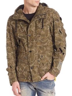 Diesel  - Laser Cut Anorak Jacket
