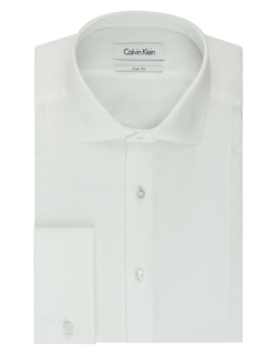 Calvin Klein - Solid Slim Fit Dress Shirt