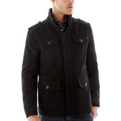 Dockers - 4-Pocket Wool-Blend Jacket