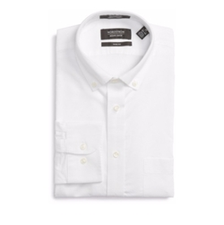 Nordstrom - Trim Fit Solid Oxford Dress Shirt