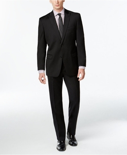 Calvin Klein - Solid Slim-Fit Suit