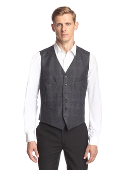 John Varvatos  - Hampton Super Wool Vest