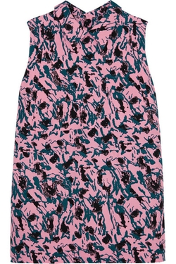 Marni - Printed Crepe Top