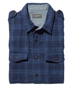 L.L.Bean - Signature Irish Indigo Linen Shirt