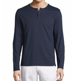 Orlebar Brown - Long-Sleeve Henley Shirt