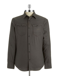 G-Star Raw  - Snap Button Down Shirt