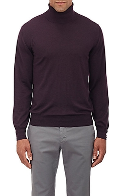 Brioni - Fine-Gauge Turtleneck Sweater
