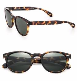 Oliver Peoples  - Sheldrake Wayfarer Sunglasses