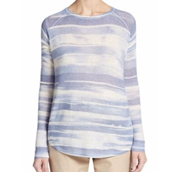 Vince  - Wool & Cashmere Striped Sweater