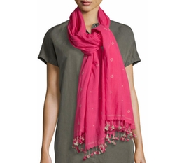 Eileen Fisher - Jamdani Flower Scarf