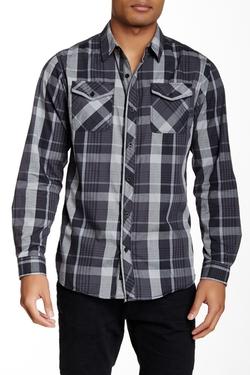 Burnside  - Plaid Long Sleeve Regular Fit Shirt