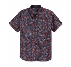 Guess - Graphic-Print Short-Sleeve Shirt