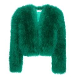 Saint Laurent - Feather Jacket