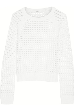 Bailey 44 - Nairobi Open-Knit Cotton-Blend Sweater