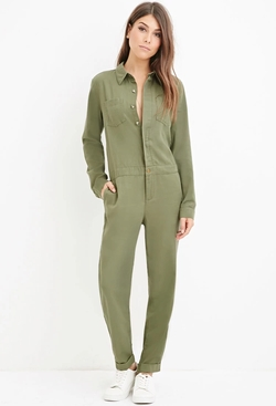 Forever21 - Contemporary Life in Progress Utility Jumpsuit
