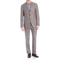 Kiton - Plaid Suit