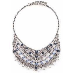 Dannijo - Steinem Crystal Bib Necklace