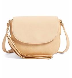 BP. - Tassel Faux Leather Crossbody Bag