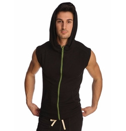 4-Rth - Sleeveless Transition Workout Hoodie