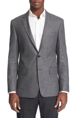 John Varvatos Star USA - Trim Fit Wool & Silk Blazer