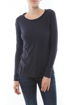 Sundry - Slub Classic Long Sleeve Tee Shirt