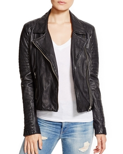 BB Dakota - Benton Leather Moto Jacket