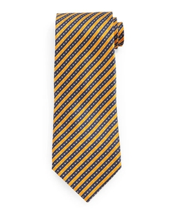 Stefano Ricci	  - Fancy Striped Silk Tie