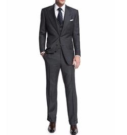 Tom Ford - Windsor Base Sharkskin Three-Piece Suit