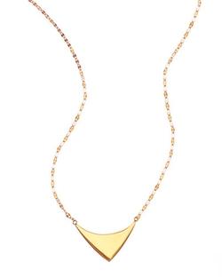 Lana - Triangle Pendant Necklace