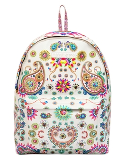 Manish Arora  - Embellished & Printed Leather Backpack