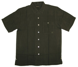 Sportailor Luau - Embroidered Silk Herringbone Woven Shirt
