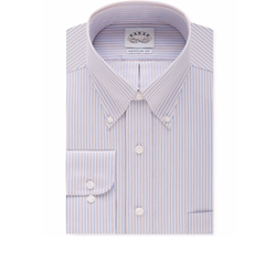 Eagle - Bright Blue Stripe Dress Shirt