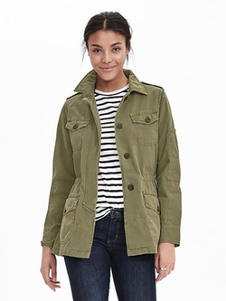 Banana-Republic - Military Jacket