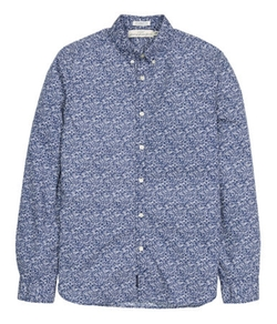 H&M - Patterned Cotton Shirt