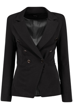 Boohoo - Anna Double Breasted Woven Blazer