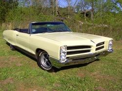 Pontiac  - 1966 Bonneville Convertible